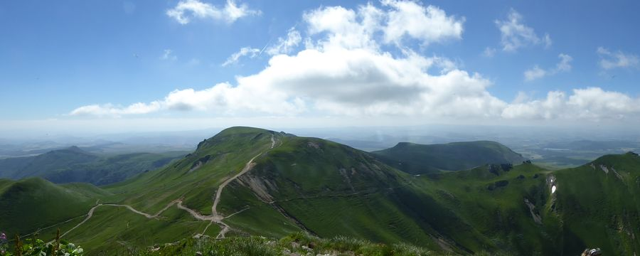 Massif Sancy in Frankreich
