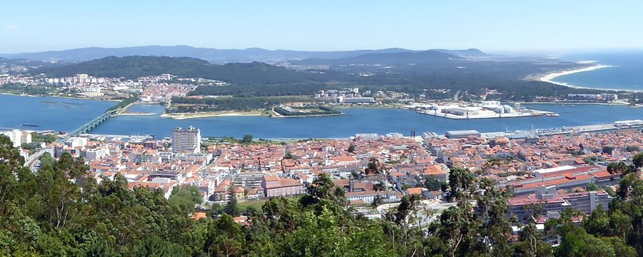 Viana do Castelo in Portugal