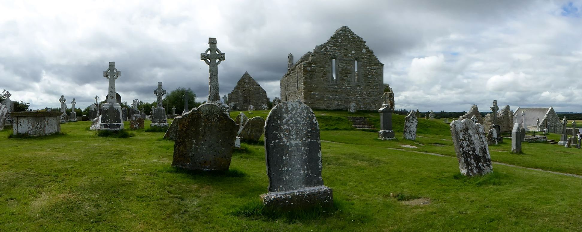 Clonmacnoise in Irland